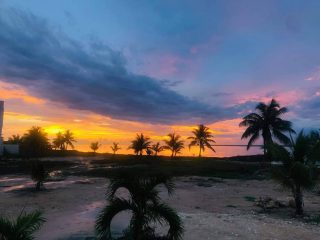 With mornings like this what are you waiting for?  Come join us in paradise . . . . . #realestate #beachfrontproperty #belize #dockside #boating #boatlife #luxury #belizediscgolf #discgolf #corozal #BelizeRealEstate #beachfrontproperties #beachfrontresort